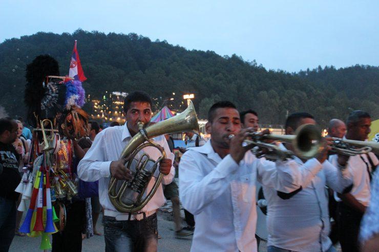 Guća trumpet festival